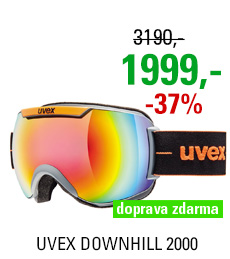 UVEX DOWNHILL 2000, coal-orange mat/rainbow S5501155026