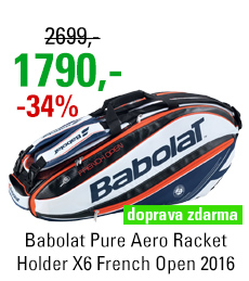 Babolat Pure Aero Racket Holder X6 French Open 2016