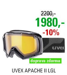 UVEX APACHE II LGL, black/lgl S5506322029