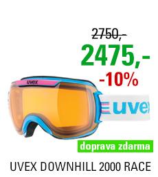 UVEX DOWNHILL 2000 RACE, cyan pink/lasergold S5501124929
