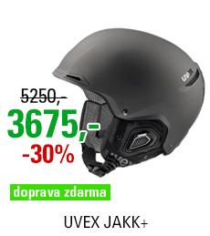 UVEX JAKK+ black mat S566182200