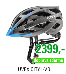 UVEX CITY I-VO, GREY-BLUE MAT 2017