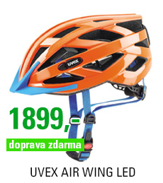 UVEX AIR WING LED, NEON ORANGE 2017