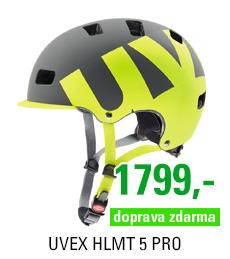 UVEX HLMT 5 PRO, GREY-LIME MAT