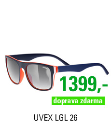 UVEX BRÝLE LGL 26, BLUE RED