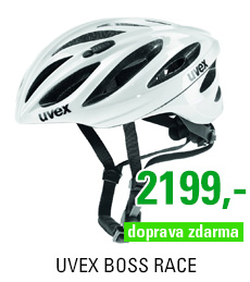 UVEX BOSS RACE, WHITE