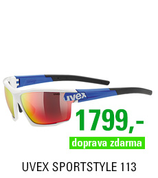 UVEX SPORTSTYLE 113, WHITE BLUE