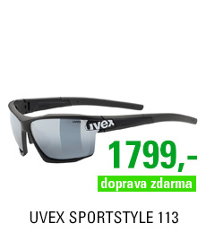UVEX SPORTSTYLE 113, BLACK