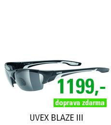 UVEX BLAZE III, BLACK MAT