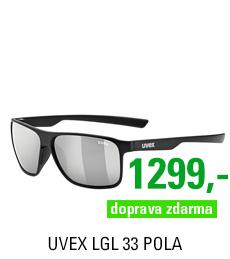 UVEX LGL 33 POLA, BLACK MAT