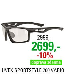 UVEX SPORTSTYLE 700 VARIO, BLACK MAT