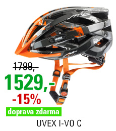 UVEX I-VO C, DARK SILVER-ORANGE