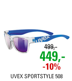 UVEX SPORTSTYLE 508 CLEAR BLUE/MIR. BLUE