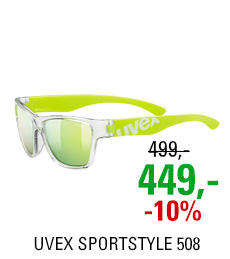 UVEX SPORTSTYLE 508 CLEAR YELLOW/YELLOW MIRROR