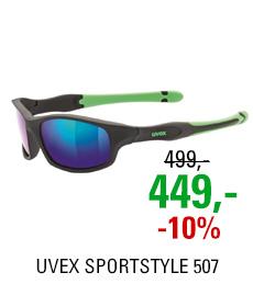 UVEX SPORTSTYLE 507, BLACK MAT GREEN