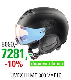 UVEX HLMT 300 VARIO, black mat S566203220