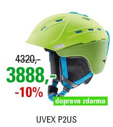 UVEX P2US green-liteblue mat S566178510