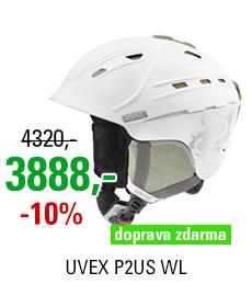 UVEX P2US WL white-prosecco mat S566178110