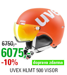 UVEX HLMT 500 VISOR orange mat S566213800