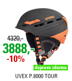 UVEX P.8000 TOUR, black-orange mat S566204280