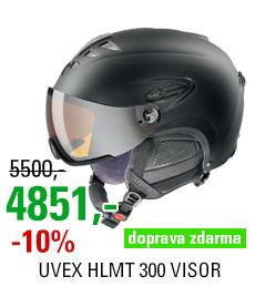 UVEX HLMT 300 VISOR black mat S566162220