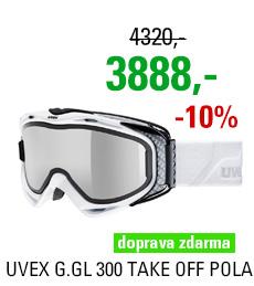 UVEX G.GL 300 TAKE OFF POLA white/fullmirror S5502121226
