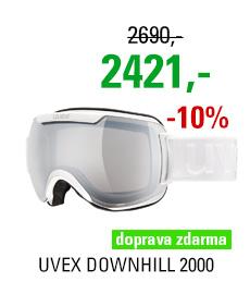 UVEX DOWNHILL 2000, white/ltm silver S5501091826