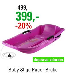Boby Stiga Pacer Brake Pink
