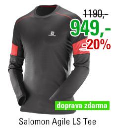 Salomon Agile LS Tee 397164