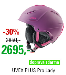 UVEX P1US Pro Lady, purple-pink mat S566179900
