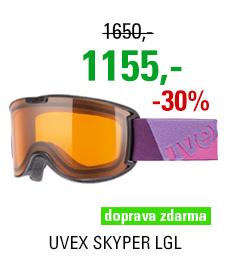 UVEX SKYPER LGL, black/lgl S5504232126