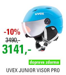 UVEX JUNIOR VISOR PRO liteblue-white mat S566191410