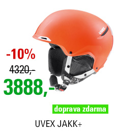 UVEX JAKK+ orange-white mat S566209800