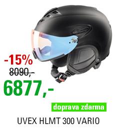 UVEX HLMT 300 VARIO, black mat S566203220 17/18