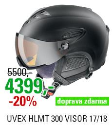 UVEX HLMT 300 VISOR black mat S566162220 17/18