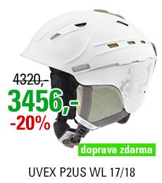UVEX P2US WL white-prosecco mat S566178110 17/18