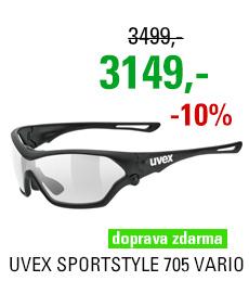 UVEX BRÝLE SPORTSTYLE 705 VARIO, BLACK MAT
