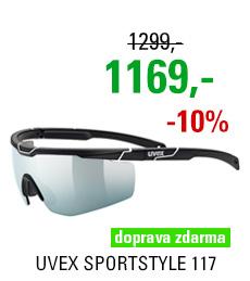 UVEX SPORTSTYLE 117, BLACK MAT WHITE