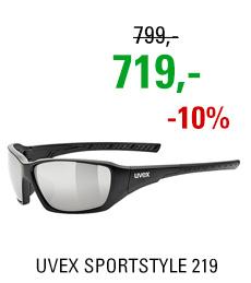 UVEX SPORTSTYLE 219 BLACK MAT