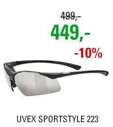 UVEX SPORTSTYLE 223, BLACK