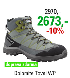 Dolomite Tovel WP Grey/Green