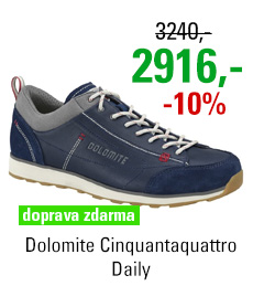 Dolomite Cinquantaquattro Daily Blue