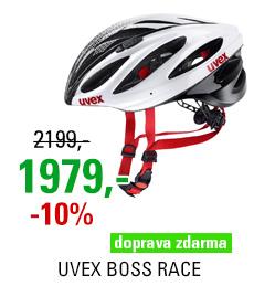 UVEX BOSS RACE, WHITE-BLACK 2018