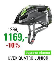 UVEX HELMA QUATRO JUNIOR, ANTHRACITE-GREEN 2018