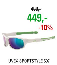 UVEX SPORTSTYLE 507, WHITE GREEN