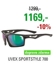 UVEX SPORTSTYLE 700, BLACK MAT