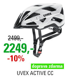 UVEX HELMA ACTIVE CC, WHITE-BLACK MAT 2018