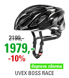 UVEX BOSS RACE, BLACK 2018