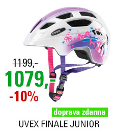 UVEX HELMA FINALE JUNIOR, PINK GIRL 2018
