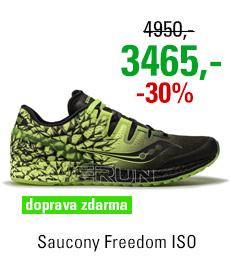 Saucony Freedom ISO Black/Citron